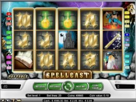 Online slot machine Spellcast no registration