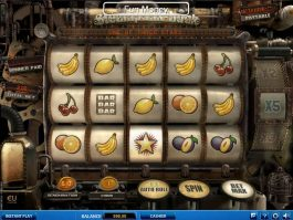 Play free casino slot Steampunk Luck