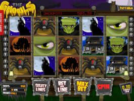 Casino slot game The Ghouls no deposit