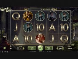 Online slot machine The Invisible Man for free