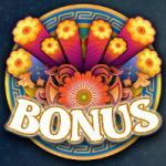 Bonus symbol from online free slot The Love Guru