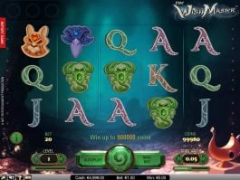 Casino slot machine The WishMaster no deposit