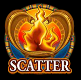 Scatter symbol from online casino slot game