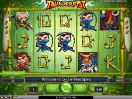 Free slot game Thunderfist no deposit