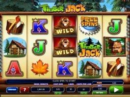 Online free slot game Timber Jack