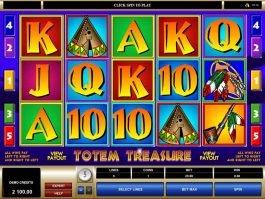Free Totem Treasure online slot