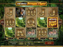 Online slot game Untamed Bengal Tiger