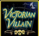 Wild symbol from online slot machine Victorian Villain