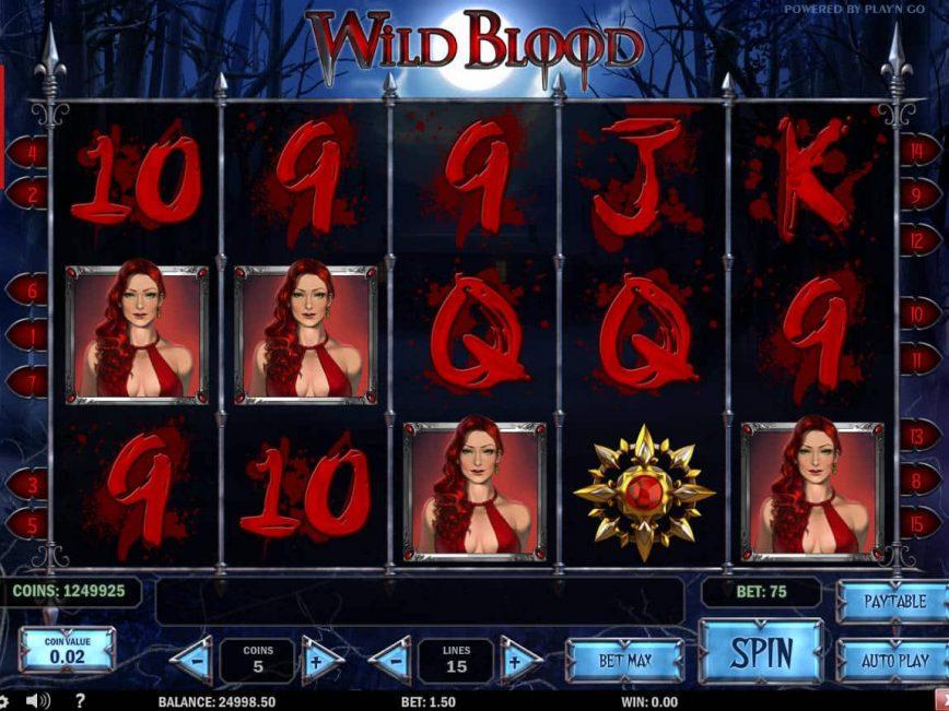 Online casino slot Wild Blood