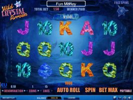 Picture from online free slot Wild Crystal Arrows