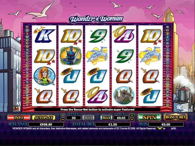 Wonder Woman Slots Online