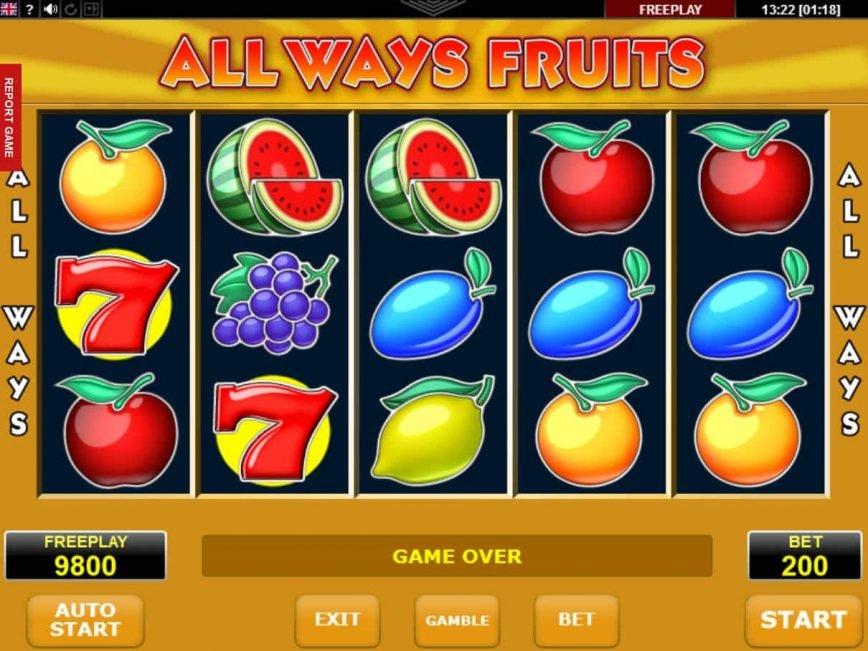No download game All Ways Fruits no deposit