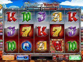 Online casino game Annocence or Temptation