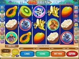 Casino slot machine Big Break no deposit