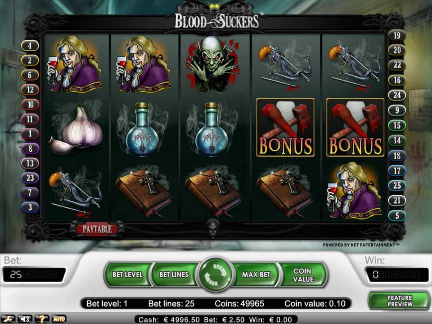 Online free slot Blood Suckers for fun