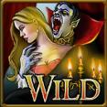 Wild symbol from Blood Suckers slot machine online