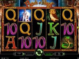 Play free casino slot Book of Magic