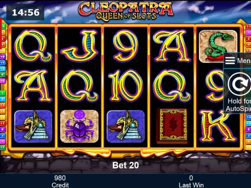 Play free slot machine Cleopatra - Queen of Slots