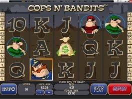 Free casino game Cops n'Bandits online