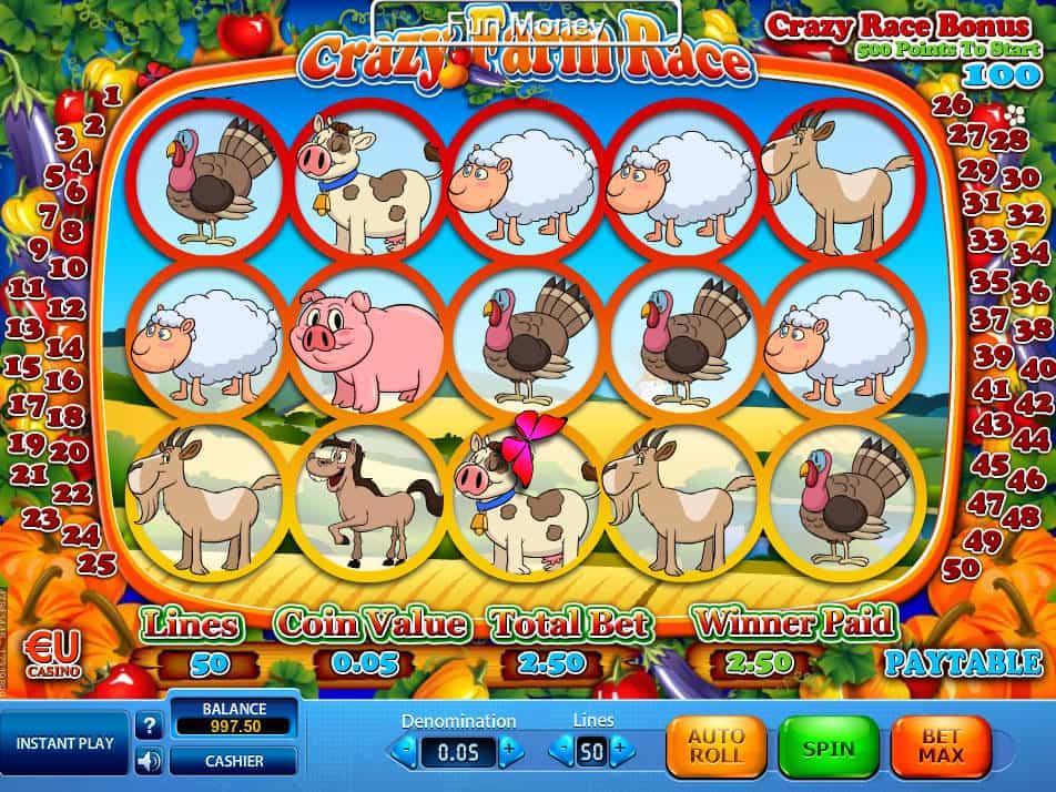 Trial crazy farm slot machine online skillonnet game empire
