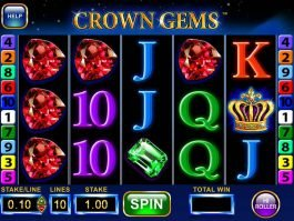 Play free casino slot Crown Gems Hi Roller