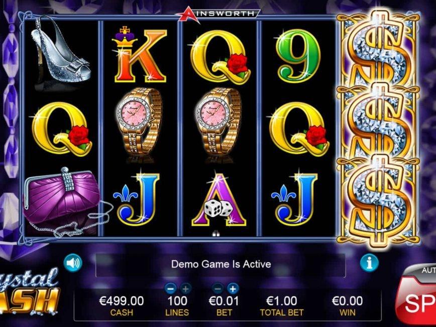 Online free slot machine Crystal Cash