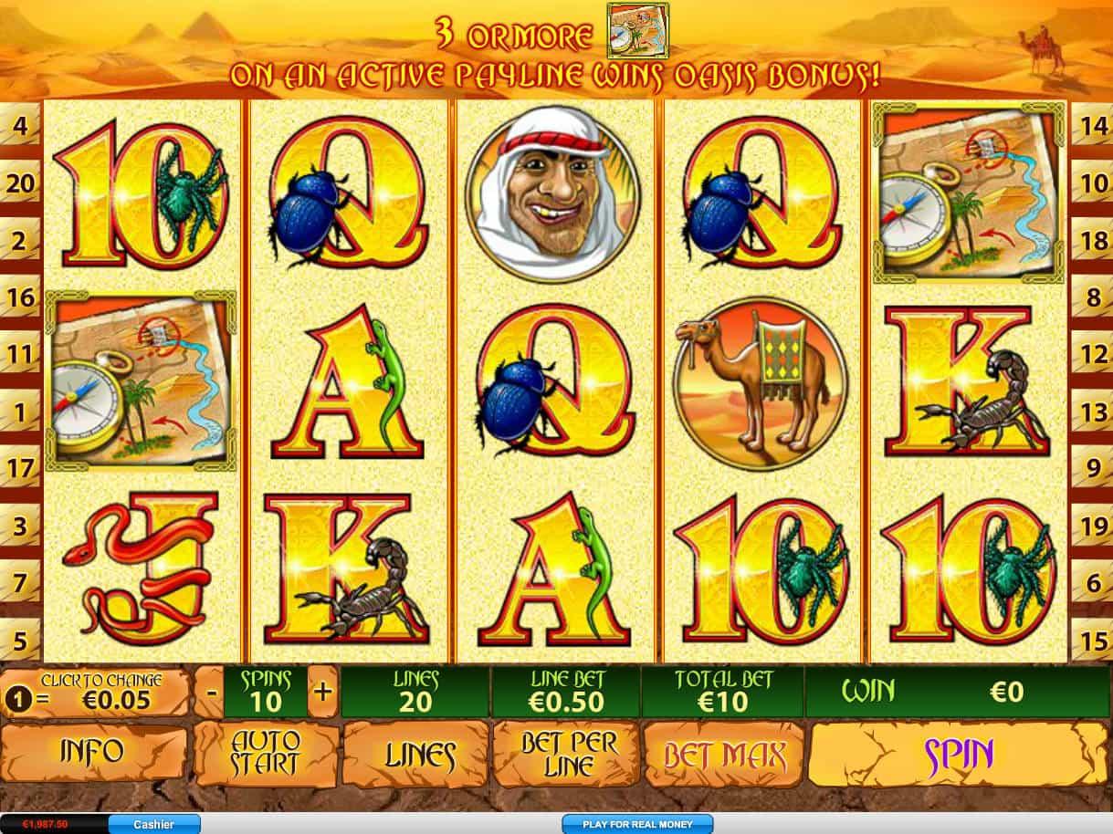 Desert Treasure 2 Slot Machine