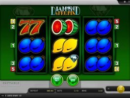 Online slot machine Diamond and Fruits