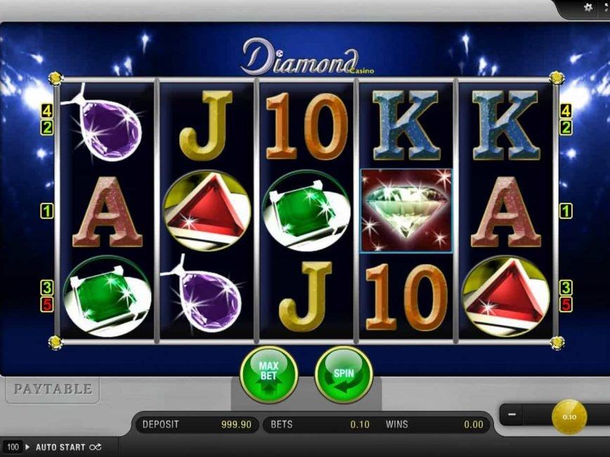 Spin slot machine Diamond Casino