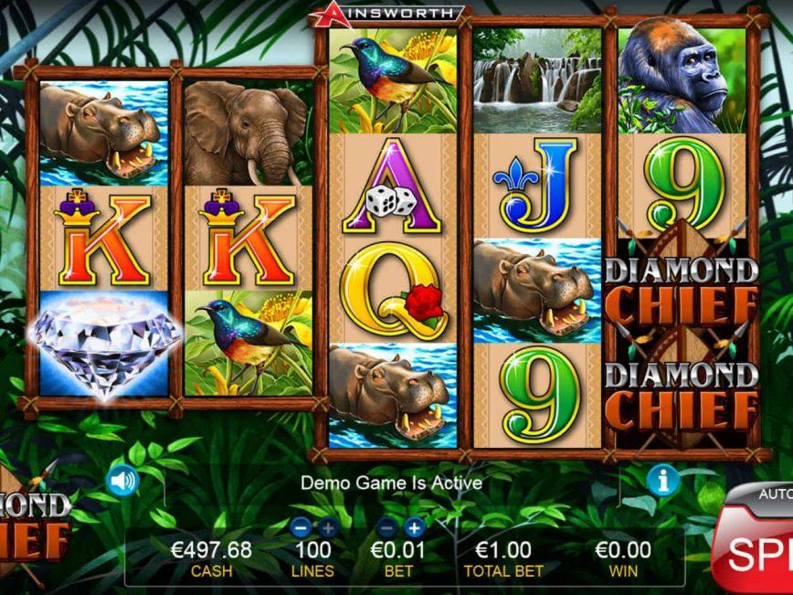 Diamond Chief online free slot machine