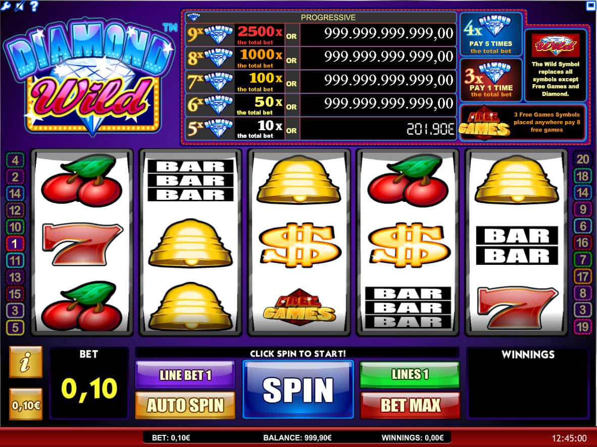 Spiele Diamond Wild - Video Slots Online