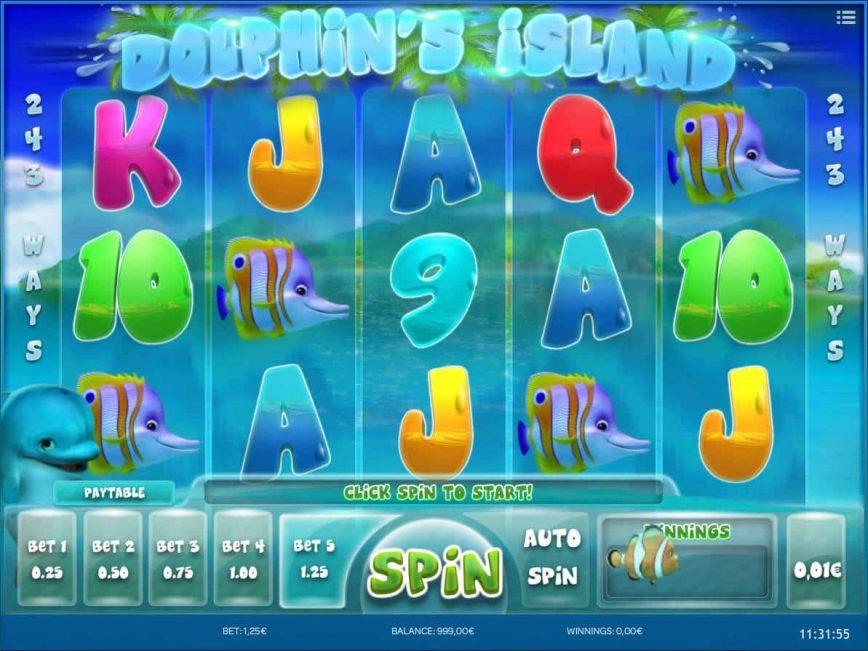 Online Dolphin's Island free slot