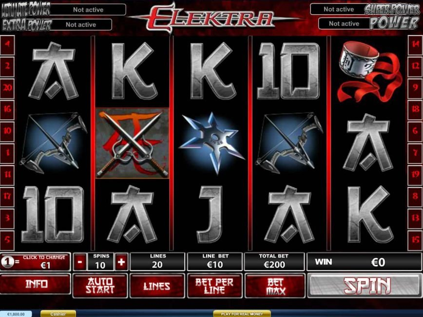 Casino free slot Elektra no deposit