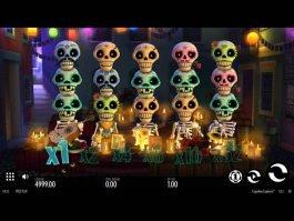 Casino game Esqueleto Explosivo for free