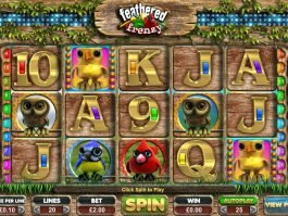 Online free slot game Feathered Frenzy