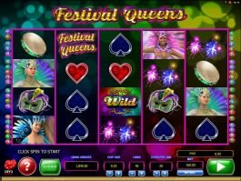 No deposit game Festival Queens