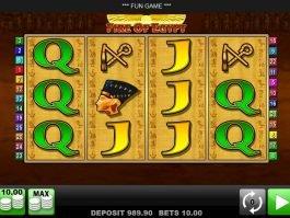 Casino slot machine Fire of Egypt for free