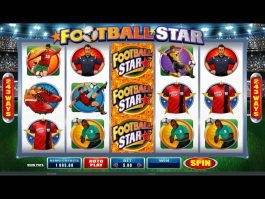 Online casino game Football Star no deposit