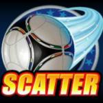 Football Star free online slot - scatter