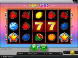 Spin slot machine Fruit Slider online