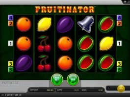 Picture from Fruitinator slot by Merkur