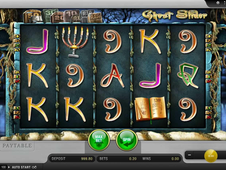 Online Casino Ghost Slider