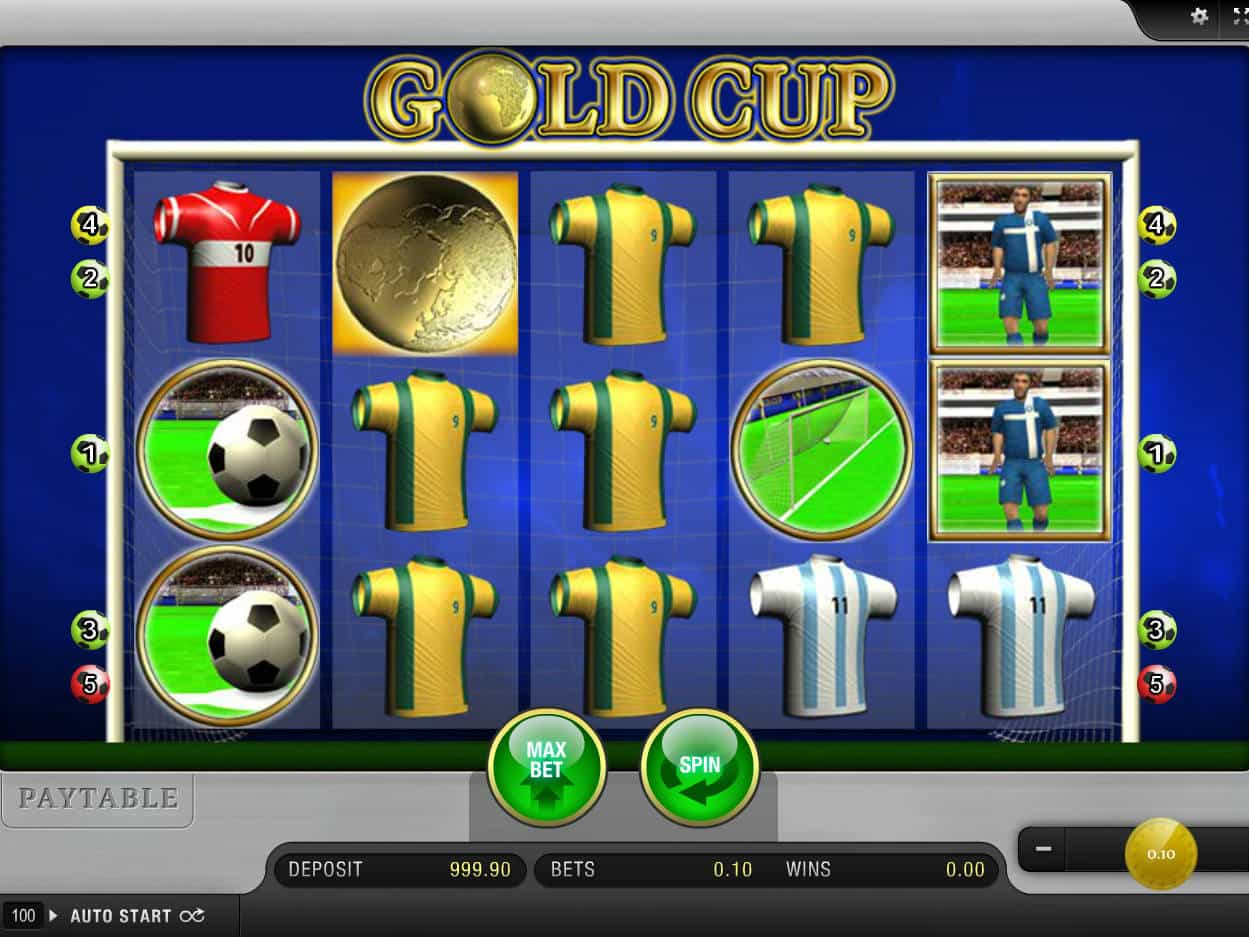 Gold Cup Slot Machine