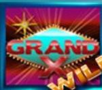 Wild symbol from Grand X online slot