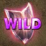 Wild symbol from casino slot Heavy Metal Warriros online