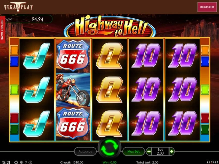 Free casino game Highway to Hell