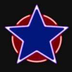 Simbol scatter în jocul de aparate Hot Neon de la Amatic