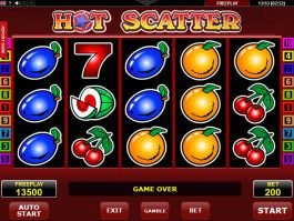 Casino free slot machine Hot Scatter