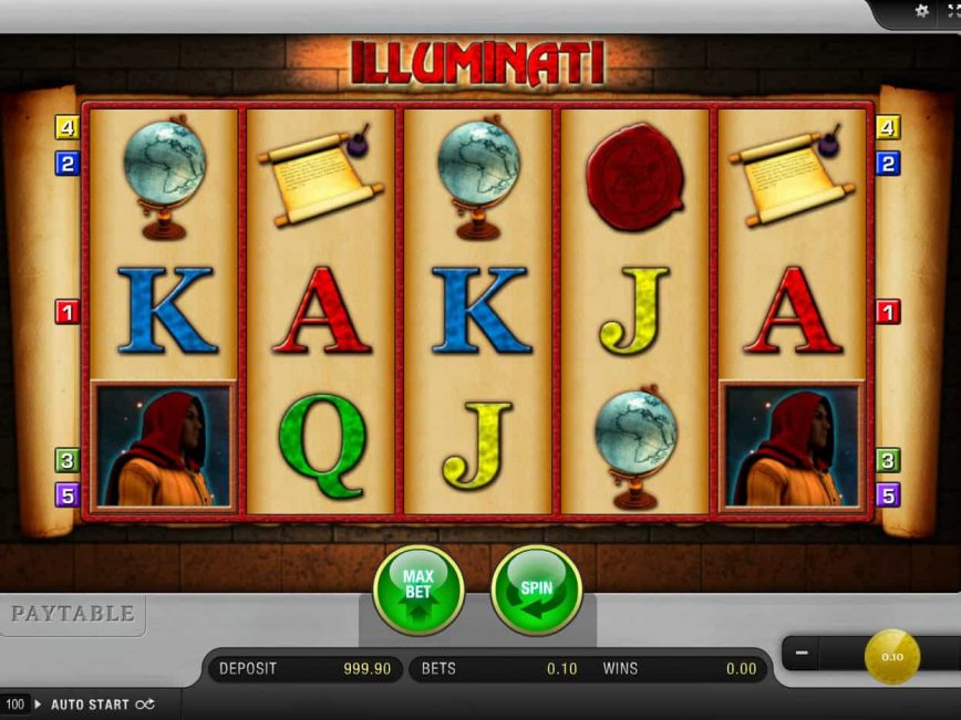 Illuminati Slot Machine