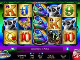Free slot game King Chameleon